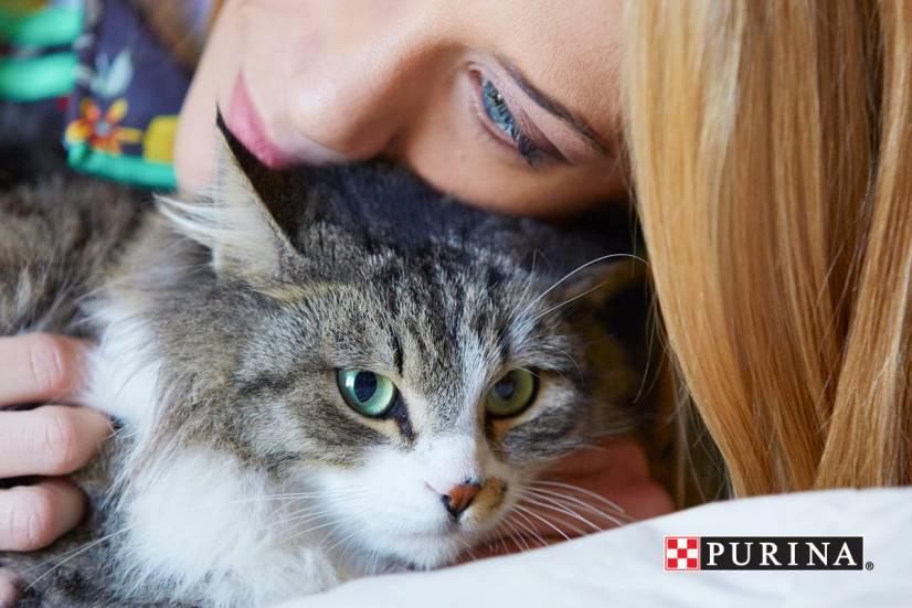 Η γάτα της Τζένης Θεωνά «tweetάρει»!
