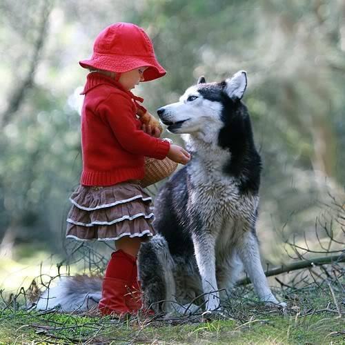 σκυλος και παιδι